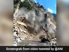 Landslide In Rishikesh-Badrinath Highway