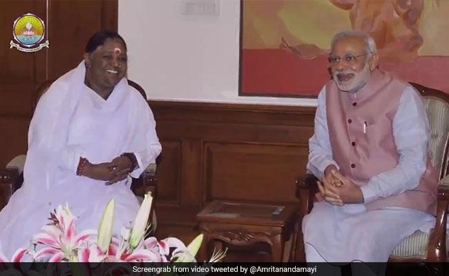 'May God Give Him Strength': Mata Amritanandamayi Greets PM On Rakhi