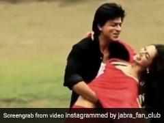 शाहरुख और दीपिका कर रहे थे 'तितली' सॉन्ग की शूटिंग, तभी बिगड़ा बैलेंस और फिर...देखें Video