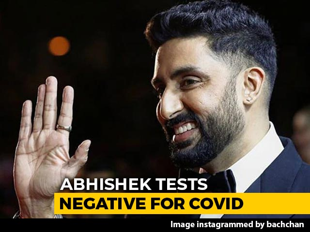 Actor Abhishek Bachchan Tests Negative For COVID-19