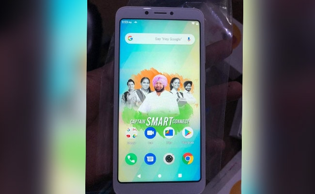 Punjab To Give 'Captain Connect' Smartphones To Students Amid Lockdown