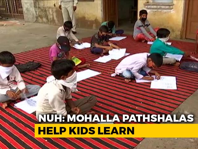 Video : For Students Missing Online Classes, Haryana District's Community Classrooms