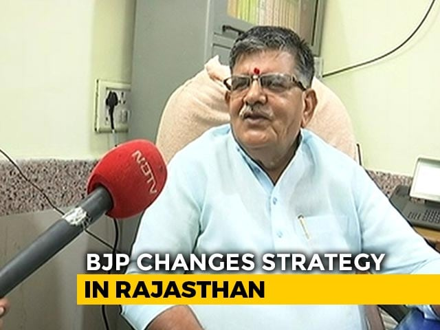 "Video : ""Reworking Strategy"": Rajasthan BJP Cancels Meet After Congress Truce"