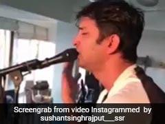 जब सुशांत सिंह राजपूत 'श्री कृष्ण गोविंद हरे मुरारी' भजन गाते हुए भक्ति में हो गए थे लीन...देखें Viral Video
