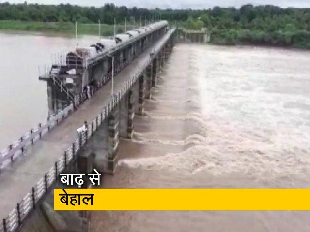 Videos : बारिश और बाढ़ से परेशान गुजरात, 9 लोग अब तक बहे