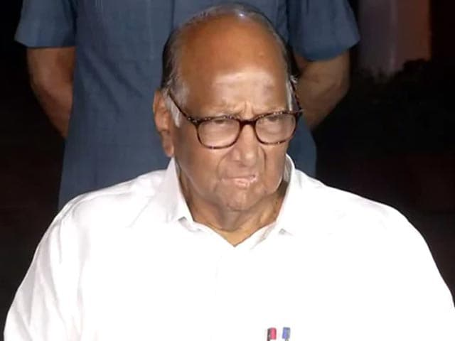 "Video : Hope Sushant Rajput Case Won't Go ""Unresolved"": Sharad Pawar On CBI Probe"