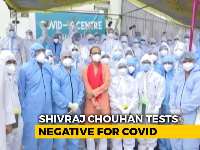 Video : Chief Minister Shivraj Singh Chouhan Recovers From COVID-19, Discharged From Hospital