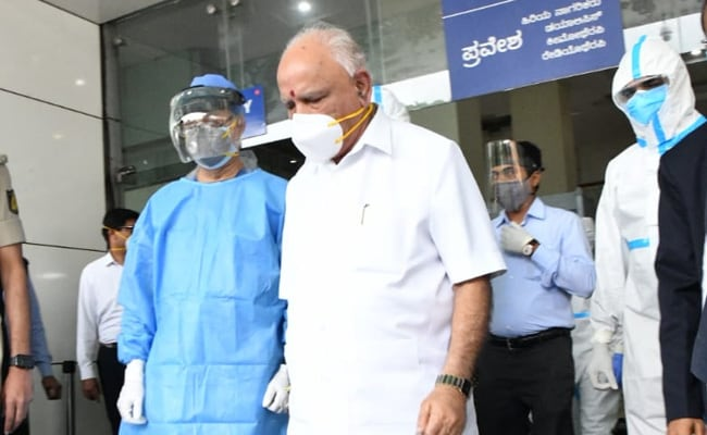 Karnataka Chief Minister Back Home Week After Testing Coronavirus +ve