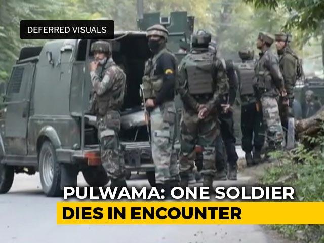 Video : Soldier Killed In Line Of Duty, 3 Terrorists Shot Dead In J&K Encounter