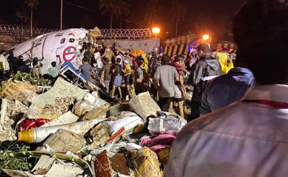 17 Dead Including Both Pilots After Plane Breaks In Two In Kerala