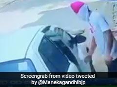 बीजेपी MP मेनका गांधी ने कुत्ते पर गाड़ी चढ़ाने का VIDEO किया शेयर, आरोपी पर केस दर्ज