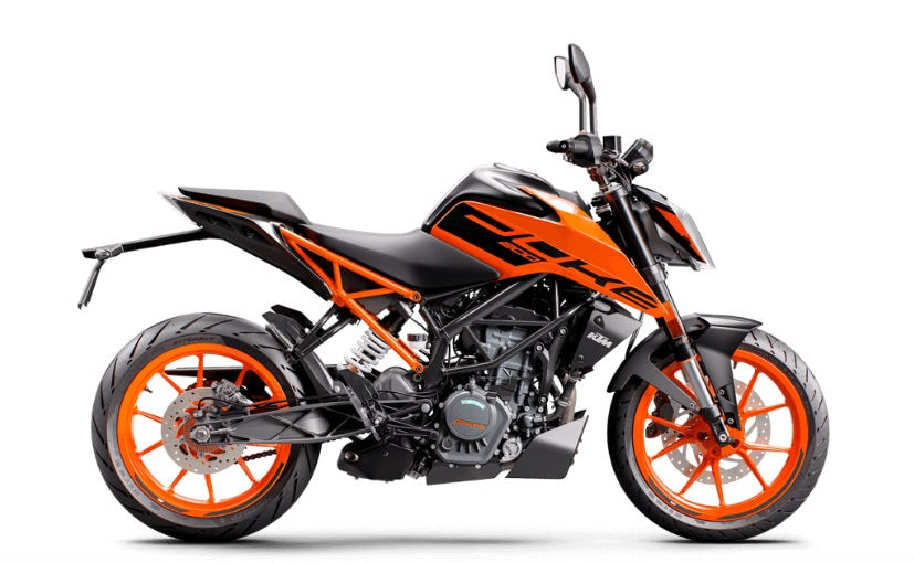 The US market will get the European-spec KTM 200 Duke with all-LED headamp