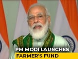 Video : PM Sends ₹17,100 Crore Into Bank Accounts Of Over 8 Crore Farmers