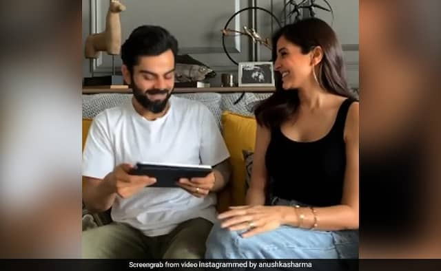 Virat Kohli takes a fun quiz with wife Anushka Sharma watch video