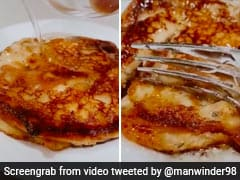 Video Of <i>Gulab Jamun</i> Pancakes Goes Viral And Netizens Are Seriously Impressed