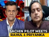 Video : 'Sachin Pilot Has Talked About Certain Issues, Frustrations': Shashi Tharoor