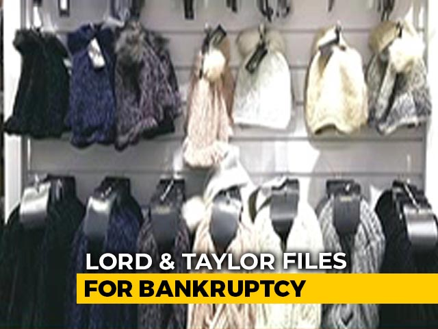 Video: US-Based Lord & Taylor Files For Bankruptcy