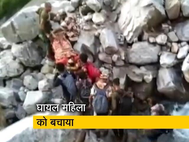 Videos : उत्तराखंड में ITBP के जवानों ने दूर दराज स्थित गांव से महिला को किया रेस्क्यू