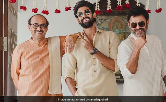 What Rana Daggubati Posted On The Morning Of His Wedding Day