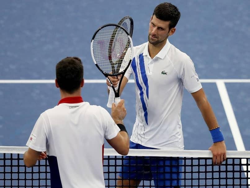 Novak Djokovic Battles Into Western And Southern Open Final