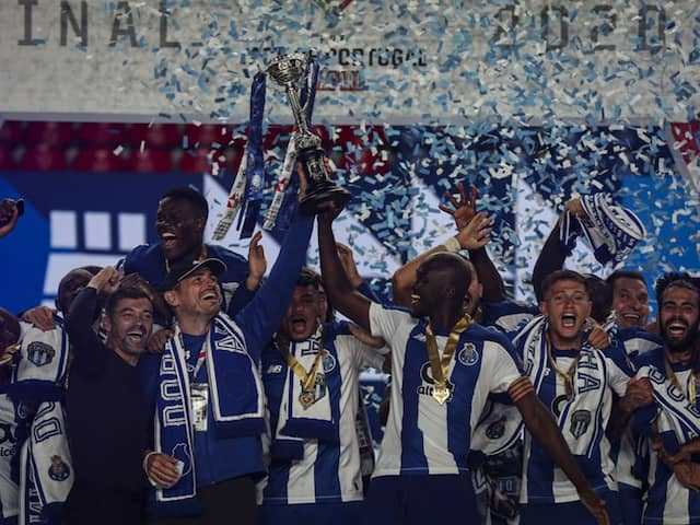 FC Porto Beat Benfica 2-1 In High-Intensity Game To Win 17th Portuguese Cup