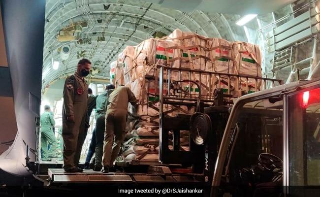 Beirut Blast: India Sends Medical, Food Supplies To Lebanon