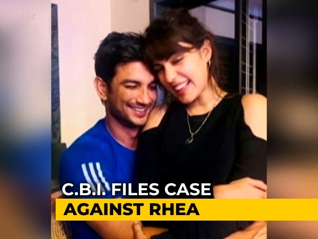 Video : Sushant Rajput Case: Centre Asks To Be Part Of Rhea Chakraborty Petition