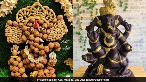 Ganesh Chaturthi 2020: These Unique Ganesh Idols Are Made With Dry Fruit And Belgian Chocolate