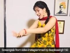 Deepika Singh ने पीला सूट पहनकर 'चूड़ी भी जिद पे आई है' सॉन्ग पर जमकर किया डांस, देखें Video