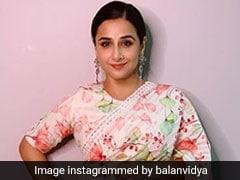 Vidya Balan Is Back In A Chic Chanderi Saree On Her #Vocalforlocalindia Series