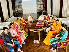 Team Gehlot Women MLAs Celebrate Kajari Teej Festival With Mehndi Session