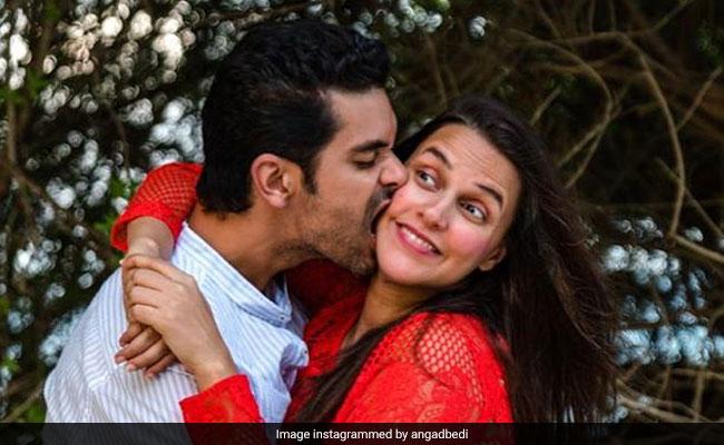 नेहा धूपिया के जन्मदिन पर, पति अंगद बेदी की 'नो फिल्टर गर्ल' के लिए पोस्ट