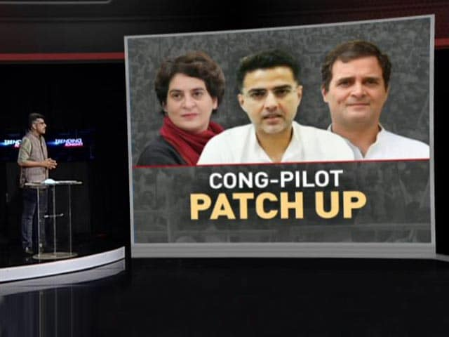 Video : Congress-Sachin Pilot Patch-Up