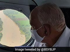 Karnataka Chief Minister BS Yediyurappa Reviews Damage Caused By Heavy Rain