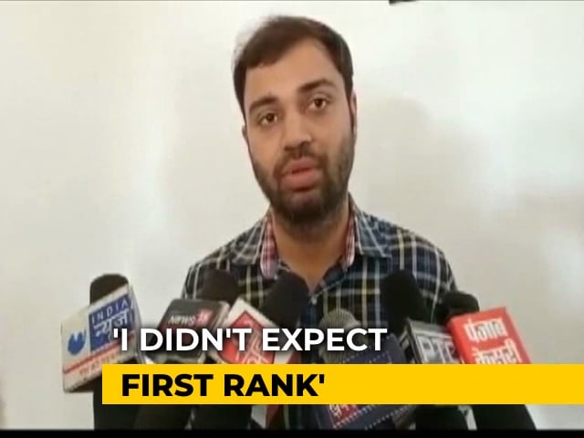 Video : Pradeep Singh Tops Civil Services Exams, Congratulations Pour In