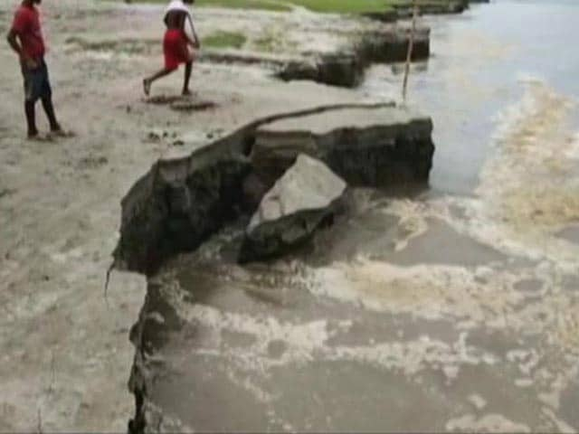 Video : After Floods, Parts Of Assam Battle Massive Riverbank Erosion