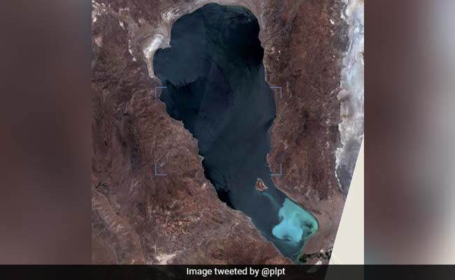 What Caused This Remote Lake To Turn An