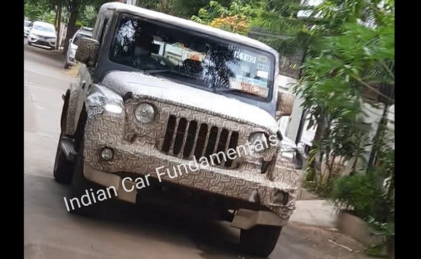 The 2020 Mahindra Thar will be launched around festive season