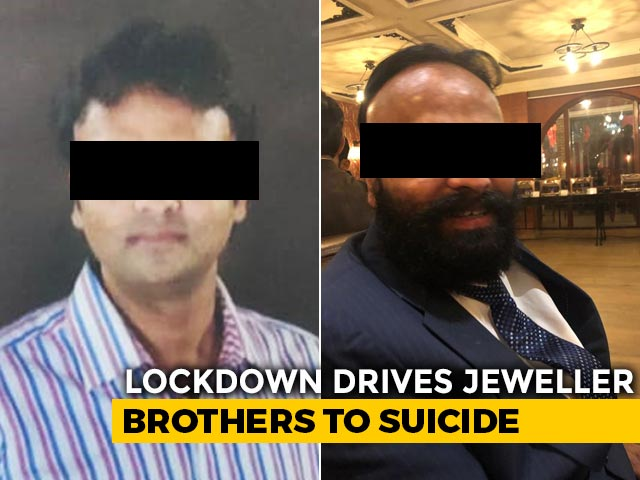 Video : Delhi Jeweller Brothers Died By Suicide Over Financial Crisis: Police