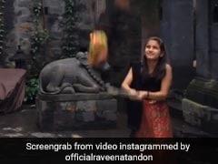 Raveena Tandon की बेटी ने मनाई Dahi Handi, मटकी फूटते ही उठाने लगीं चॉकलेट- Viral हुआ Video