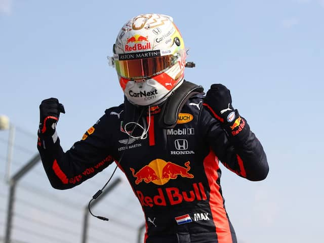 Red Bulls Max Verstappen Dominates Mercedes To Win 70th Anniversary Grand Prix