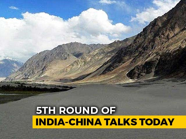 Video : India, China To Hold Fifth Round Of Commander-Level Talks Today