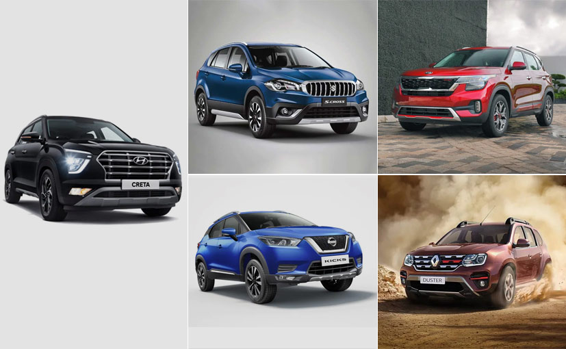 The Renault Duster is the most affordable compact SUV in this comparison.
