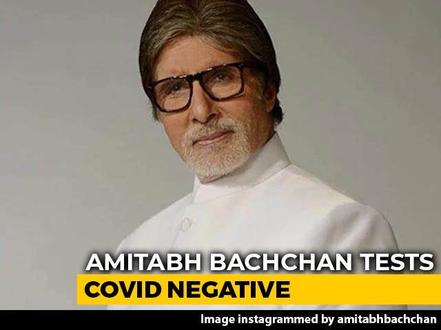 Video : Big B Leaves Hospital, Abhishek Bachchan Remains Covid Positive
