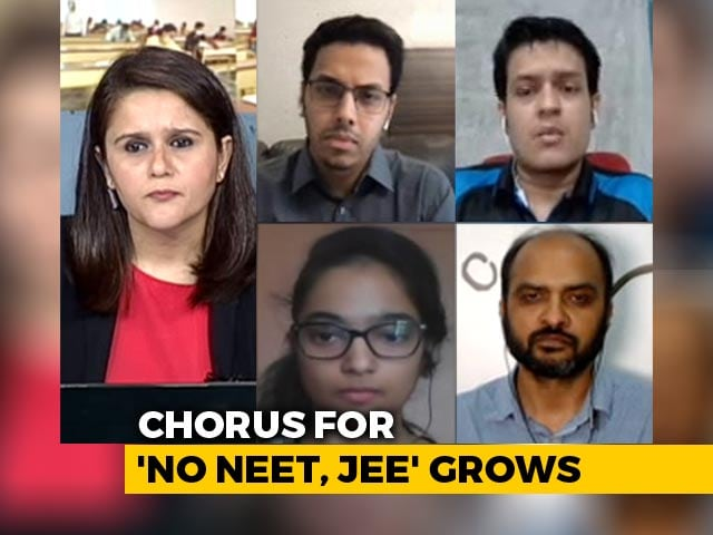 Video : NEET, JEE Aspirants Hold Digital Dharna Against Conducting Exams Amid COVID