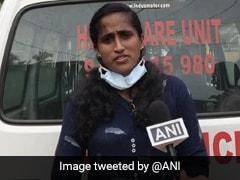 """Not Many Jobs Available"": Kerala Woman Drives Ambulance Amid Coronavirus Pandemic"