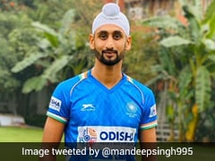 Mandeep Singh Becomes 6th Indian Hockey Player To Test Positive For Coronavirus