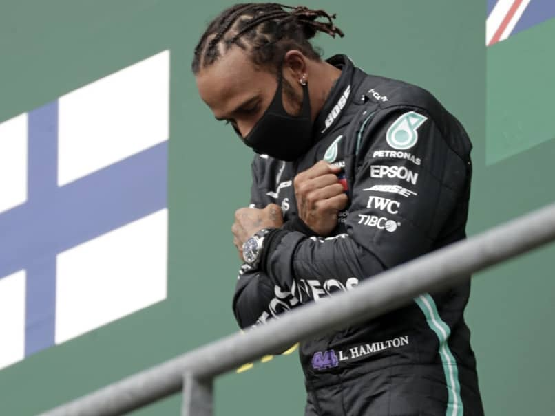 "Lewis Hamilton Salutes Chadwick Boseman And Pleads For End To ""Boring"" Racing"