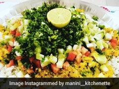 Quick Breakfast Recipe: How To Make Maharashtrian-Style <i>Dadpe Poha</i> In 10 Minutes