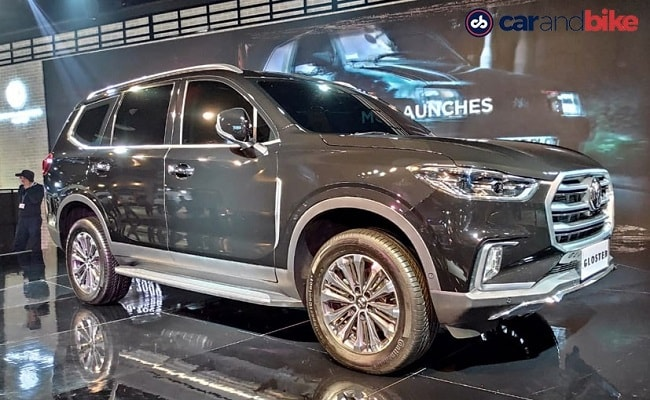 The Gloster is a full-size SUV based on the Maxus D90, which is sold in China.